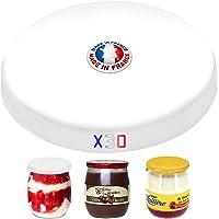 SPECIAL-DAY 30 couvercles universelles Dont 6 offerts pour Tous Les Pots de Yaourt de 143ml |Bouchon Pot de Yaourt la…