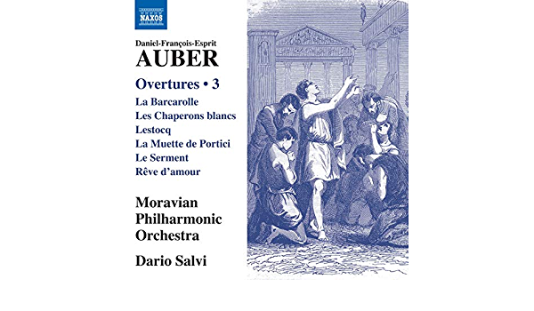 Overtures, Vol.3 - Salvi, Dario, Moravian Philharmonic Orchestra, Auber,  Daniel-François-Esprit: Amazon.de: Musik