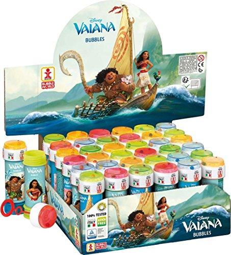 Pack de 36 Tubes à Bulle de Savon – Anniversaire Vaiana