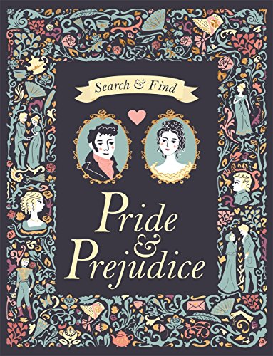 Search and find pride & prejudice (Search & Find Classics) por Frankie Jones