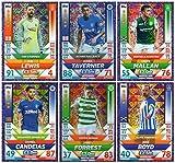 SPFL MATCH ATTAX 2018/19 – 6 Karten Set mit Skill-Stars Karten