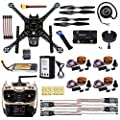 CS PRIORITY DIY GPS Drone Racer APM 2.8 Flight Controller S600 4-Axis Unassembled Quadcopter Kit with Landing Gear AT9S FS-I6 Transmitter