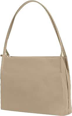 Handtasche Tote Bag Schultertasche - Taschen für Damen, Tote Bag mit Reißverschluss, Nylon Lady Bag, A4 Größe