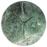 Hometime Natural Solid Slate Stone Quartz Wall Clock Grey 31cm