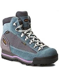 AKU - Zapatillas de senderismo de ante para mujer