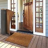 Tapis d'entrée en coco casa pura en couleur nature | fibres en coco naturel - effet nettoyant élevé | épaisseur 30mm - 3 tailles - 40x60cm