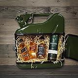 MikaMax - Jerrycan - Kleine Whisky Bar - Green - Liqour Geschenk - Mini Bar - Flaschenhalter - 5 Liter
