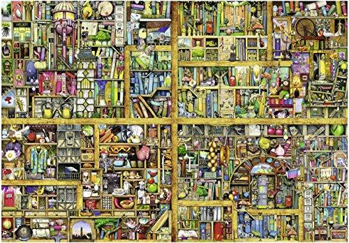 Ravensburger Italy 17825 - Colin Thompson Magical Bookcase Puzzle, 18000 Pezzi