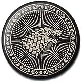 Pritties Accessories Distintivo del Pulsante HBO Game of Thrones Stark House Sigil