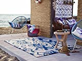 Esprit Home ESPRIT Brands Rug, in a timeless design with soft Watercolours Cove, blue/grey, 115 x 170 cm