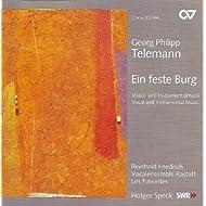Telemann, G.: Ich Danke Dem Herrn / Ach Wie Nichtig, Ach Wie Fluchtig / Singet Dem Herrn Ein Neues Lied (Rastatt Vocal Ensemble)