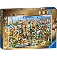 Ravensburger World Landmarks, 1000pc Jigsaw Puzzle
