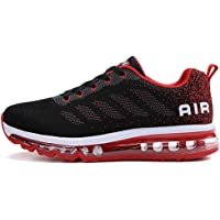 Air Cushion Sneaker for Mens and Womens Breathable Athletic Walking Shoe for Sport Gym Training Jogging
