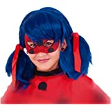 Rubies - Antifaz de Miraculous Ladybug Deluxe para niños, Talla única (Rubie's 34975)