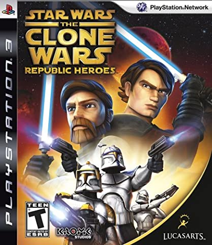 Star Wars The Clone Wars Republic Heroes Game PS3 [UK-Import]