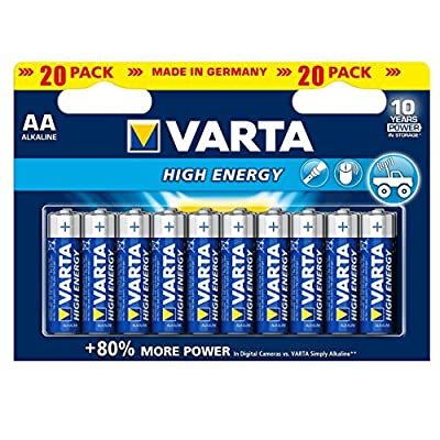 Varta High Energy Alkaline Batteries