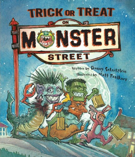 Trick or Treat on Monster Treat (Halloween Danny 6)