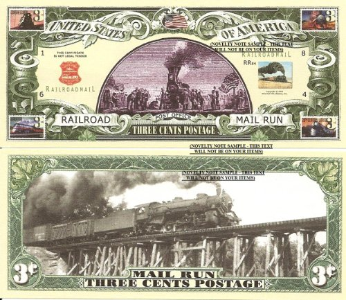 novelty-dollar-united-states-postal-service-usps-history-bills-set-of-5