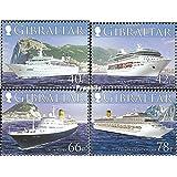 Gibraltar 1169-1172 (completa.edición.) 2006 Kreuzfahrtschiffe (sellos para los coleccionistas)