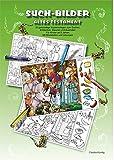 Such-Bilder AT. CDR: 30 ganzseitige Kopiervorlagen zum Suchen, Entdecken, Staunen und Ausmalen