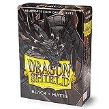 Arcane Tinmen ApS ART11102 - Dragon Shield: Japanese Matte black, 60 Stück