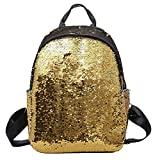 Best Disney Princess Gift For A 2 Year Olds - Fashion School Bag for Girl Sequins Zip Backpack Review