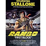 Rambo poster di film 120 x 160 cm - 1982 - Sylvester Stallone, Ted kotcheff