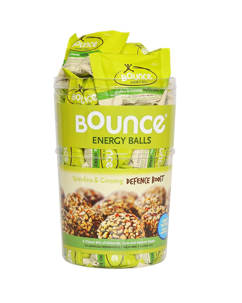 Bounce Spirulina & Ginseng 'Defence Boost' - 42g