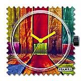 S.T.A.M.P.S. Zifferblatt Colorful Walls