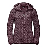 Jack Wolfskin Belleville Jacket Women Größe L Burgundy All Over