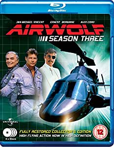 Airwolf - Complete Season 3 (4 Disc Box Set) [Blu-ray] [UK Import]
