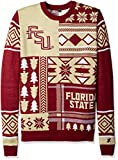 NCAA Florida State Seminoles Patches Ugly Sweater, Red, XX-Large