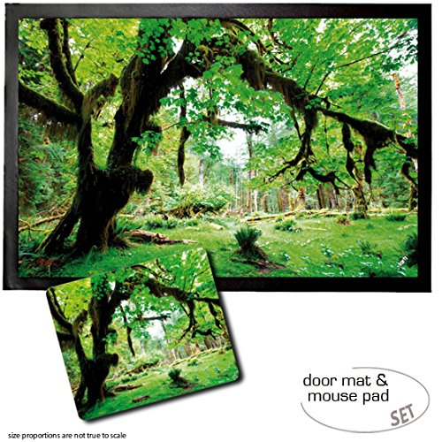 set-1-zerbino-60x40-cm-1-tappetino-per-mouse-23x19-cm-boschi-deep-green-forest-back-to-nature