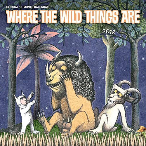 Where the Wild Things Are 2018 Wall Calendar