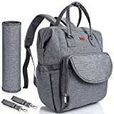 Lictin Nappy Changing Bag Backpack - Travel Baby Diaper Bag Backpack with Changing