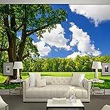 BIZHIGE Lanscape Scenery 3D Wand Fototapeten Für Wohnzimmer 3D Wandmalereien Fresco Home Decor 320 × 230 cm