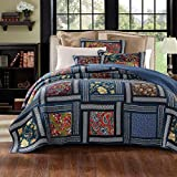 Best DaDa Bedding Collection Quilts - DaDa Bedding Darkly Bohemian Patchwork Quilted Bedspread Set Review