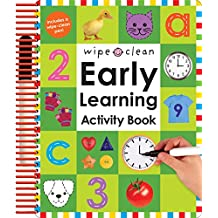 Wipe Clean Early Learning Activity Book [With 1 Wipe-Clean Pen]