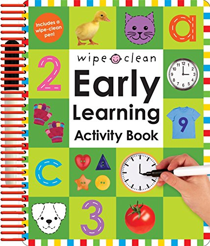 Wipe Clean: Early Learning Activity Book [With 2 Wipe-Clean Pens] por Roger Priddy