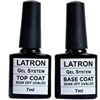 nailes top coat gel and base coat gel