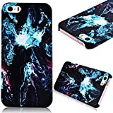 iPhone 7 Case, GrandEver Hard Marble Case for Apple iPhone 7 High Quality Plastic Back Cover Marble Stone Pattern Design Flexible Nice Back Case Rigid Protective Shell for Apple iPhone 7 (4.7