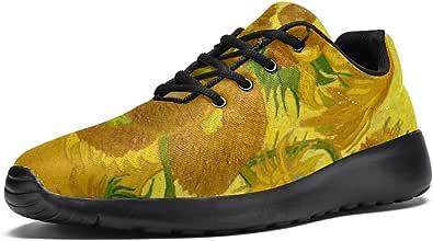 Lorvies Girasols Vincent Van Gogh Scarpe da ginnastica da uomo, scarpe casual