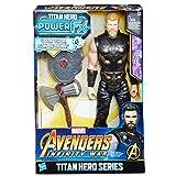 Marvel Titan Y Mochila Power Fx Thor-Versión Portuguesa (Hasbro E0616EW0)