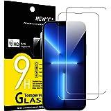 """NEW'C 2 Stuks, Screen Protector voor iPhone 13 Pro Max (6,7""""), Gehard Glass Schermbeschermer Film 0.33 mm ultra transparant,"""