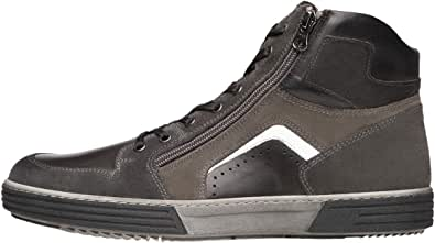 Nero Giardini A901241U Sneakers Uomo in Pelle E Camoscio