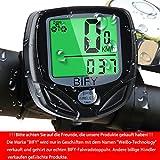 Fahrradcomputer Kabellos Bify 16 Funktionen Wasserdichte LCD Geschwindigkeit Fahrradtacho Radcomputer Tacho