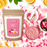 Ohayo! Glow Face Pack 100gm   Rose Petals, Orange Peel   100% Natural   Instant Party Look   100% Organic   No Chemicals…