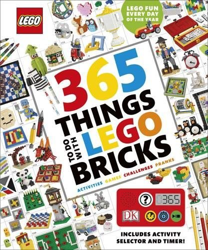 (365 Things to Do with LEGO® Bricks: With activity selector and timer)