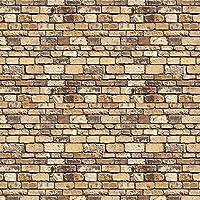 id Backscenes Scenic Brick / Building Papers - Stone Block (BM44)