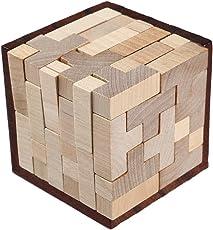 - Frässtifte Holz Lock Puzzle Intelligenz Spielzeug, mamum Holz Intelligenz Spielzeug Chinesische Brain Teaser Spiel 3D IQ Puzzle für Kinder Erwachsene